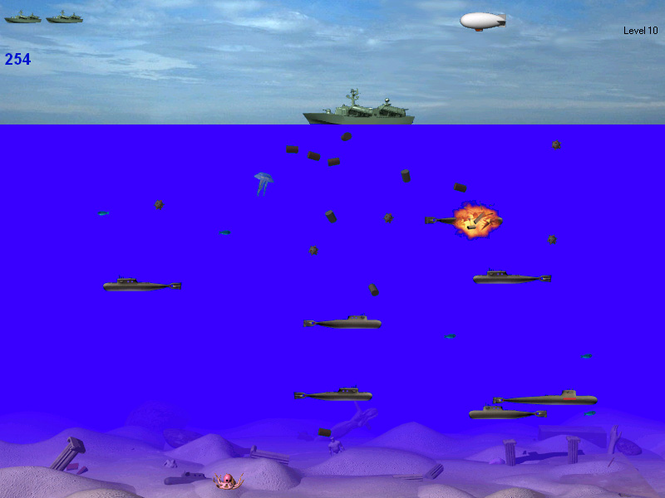SubmarineS Screenshot 1