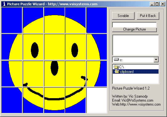 Picture Puzzle Wizard Screenshot