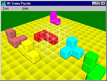 3D Soma Puzzle Screenshot