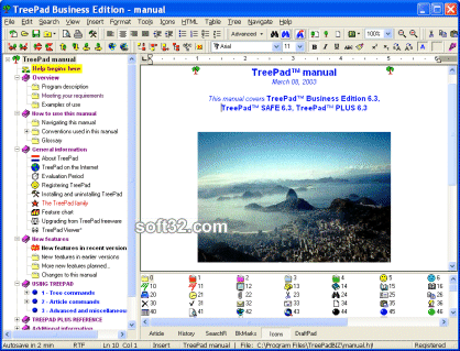 TreePad Business Edition Screenshot 3