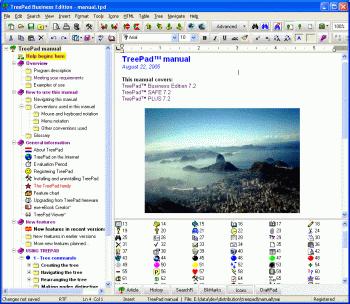 TreePad Business Edition Screenshot 2