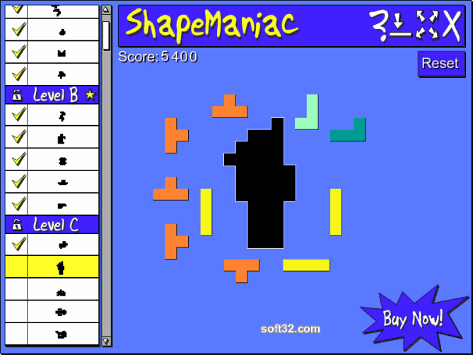 ShapeManiac Screenshot