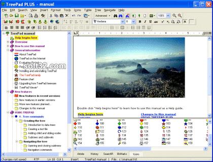 TreePad PLUS Screenshot 3