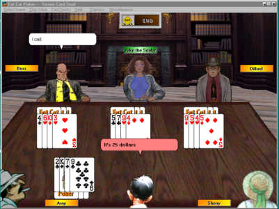 Fat Cat Poker Screenshot 1