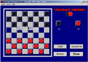 Strategist Checkers Screenshot 3
