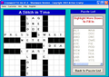 Crossword FillIns 1