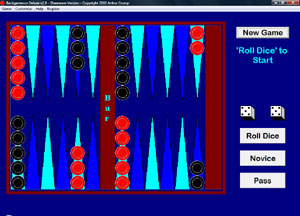 Backgammon Deluxe Screenshot