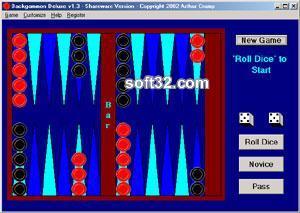 Backgammon Deluxe Screenshot 4