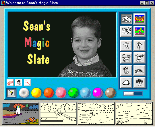 Sean's Magic Slate Screenshot