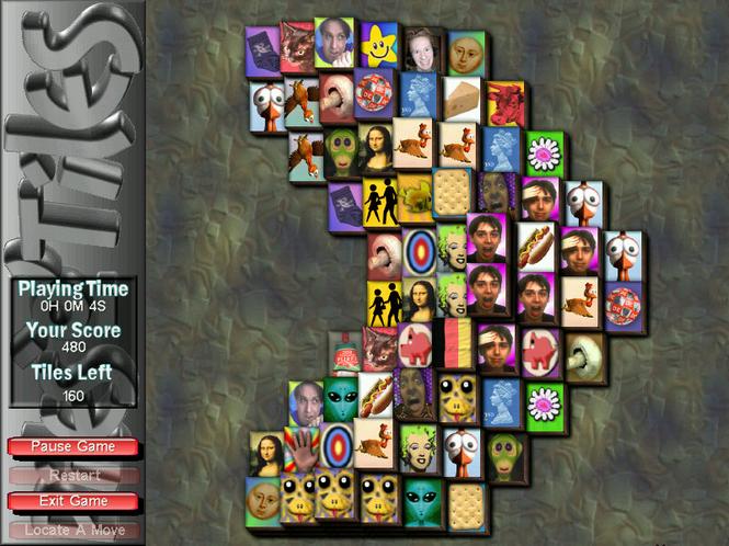 PilesOTiles Mahjongg Screenshot