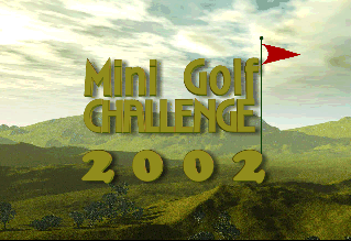Mini Golf Challenge 2002 Screenshot