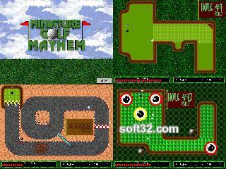 Miniature Golf Mayhem Screenshot 2