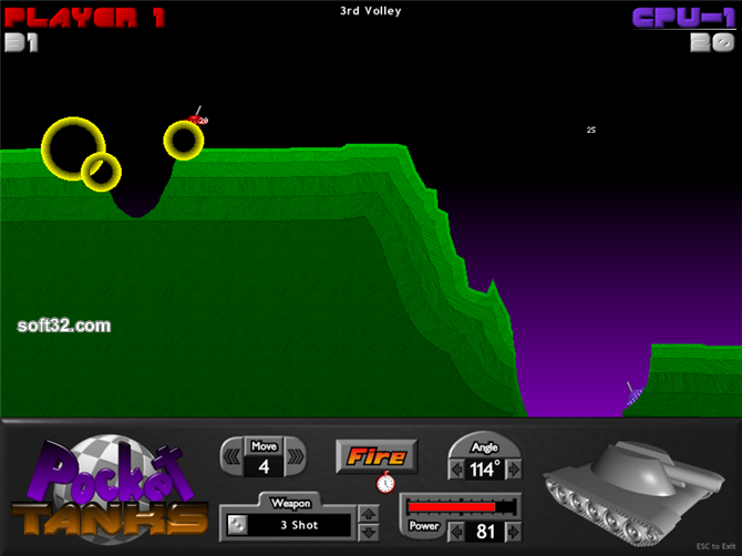 Pocket Tanks Screenshot 2