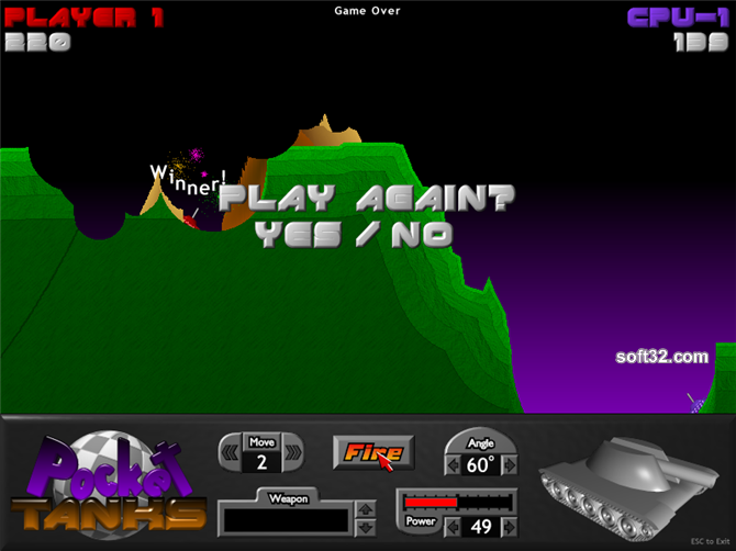 Download Pocket Tanks 1.6 Games mac os ma