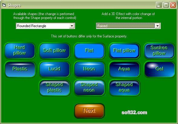 3D Button API Screenshot 3