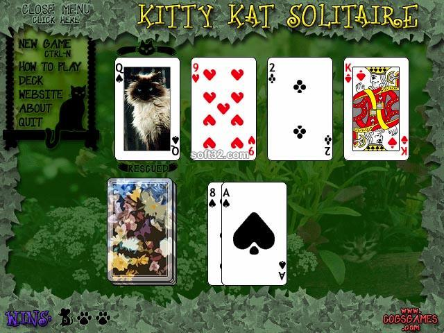 Kitty Kat Solitaire Screenshot 3