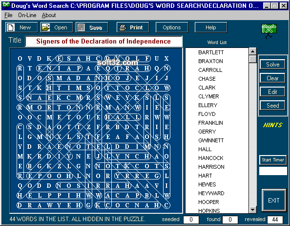 Dougs Word Search Screenshot 3