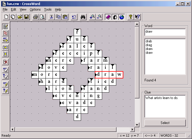 CrossWord Screenshot