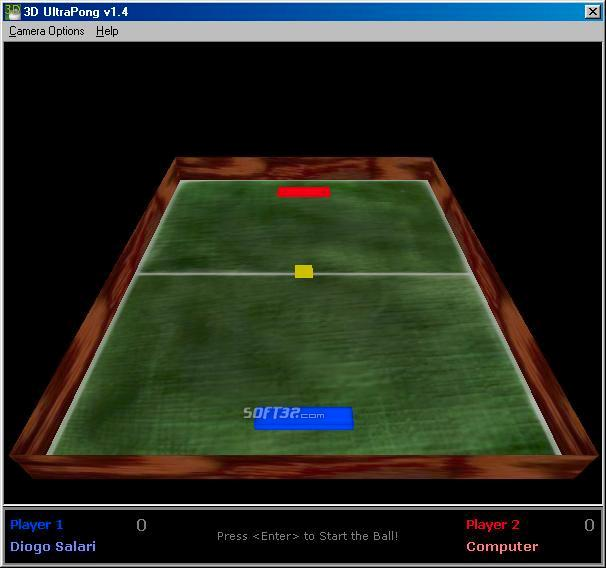 3D UltraPong Screenshot
