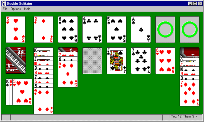Double Solitaire Screenshot 1