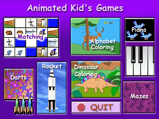 Animated Kids Games Screenshot 1