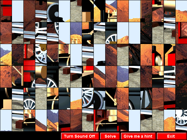 Animated Puzzles Screenshot