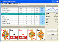 Video Poker Coach Screenshot