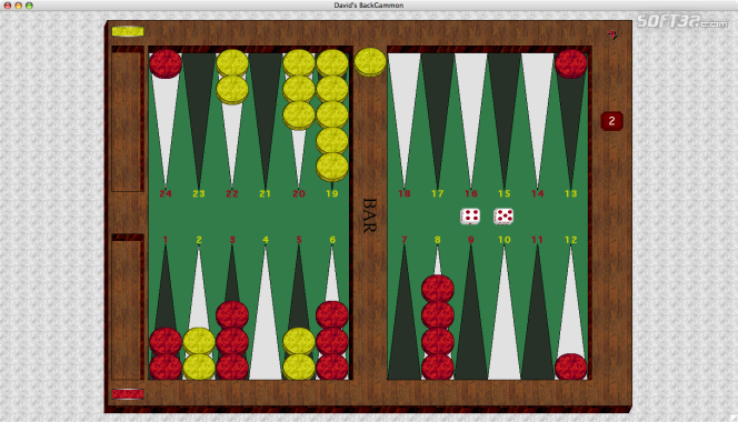 David's Backgammon(Mac) Screenshot 5