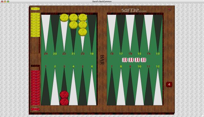 David's Backgammon(Mac) Screenshot 6