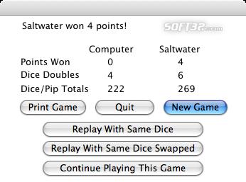 David's Backgammon(Mac) Screenshot 7