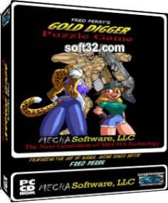 Fred Perry Gold Digger Puzzle Game CDRom and Demo Screenshot