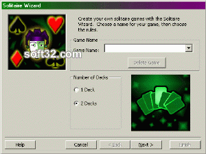 Solitaire Wizard Screenshot 2