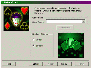 Solitaire Wizard Screenshot