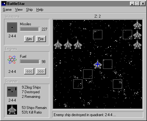 BattleStar 2000 Screenshot