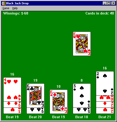 Solitaire Drop Screenshot