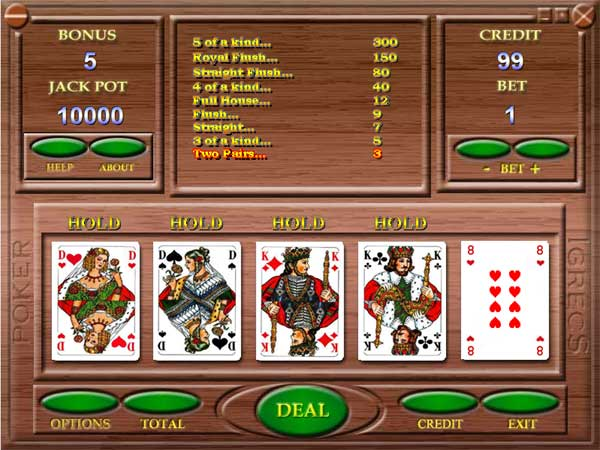 Automatic video poker Screenshot