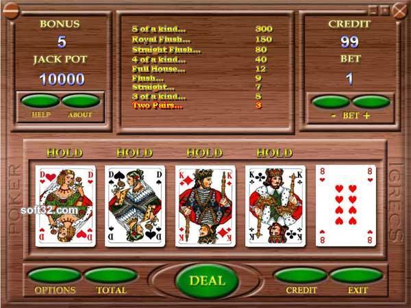 Automatic video poker Screenshot 2