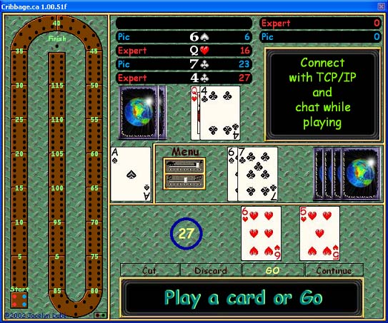 Cribbage.ca Screenshot 1