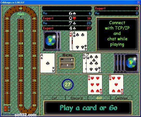 Cribbage.ca Screenshot 2