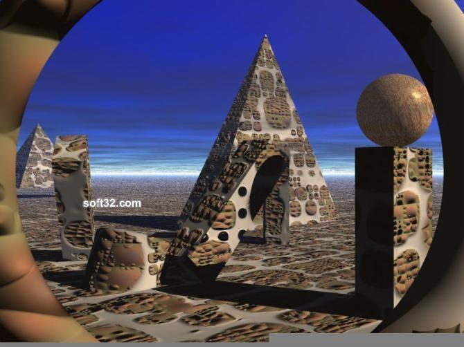 3D Art Screen Saver Screenshot 3
