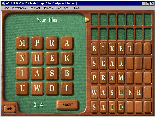 WordZap Deluxe Screenshot