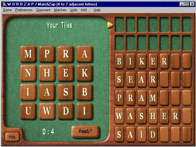 WordZap Deluxe Screenshot 1