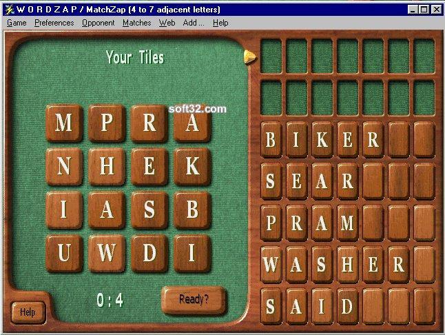 WordZap Deluxe Screenshot 2