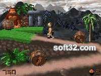 3D Caveman Rocks! Screenshot