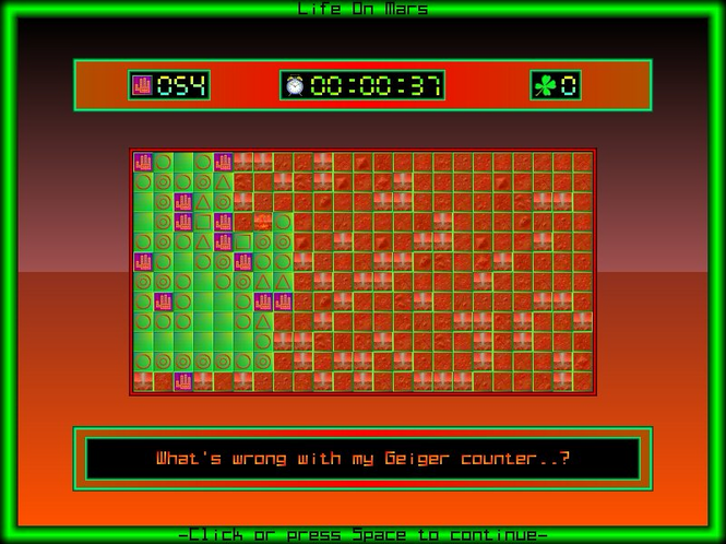 Manic Minefields (for Mac Classic) Screenshot