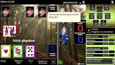 Sieben Screenshot