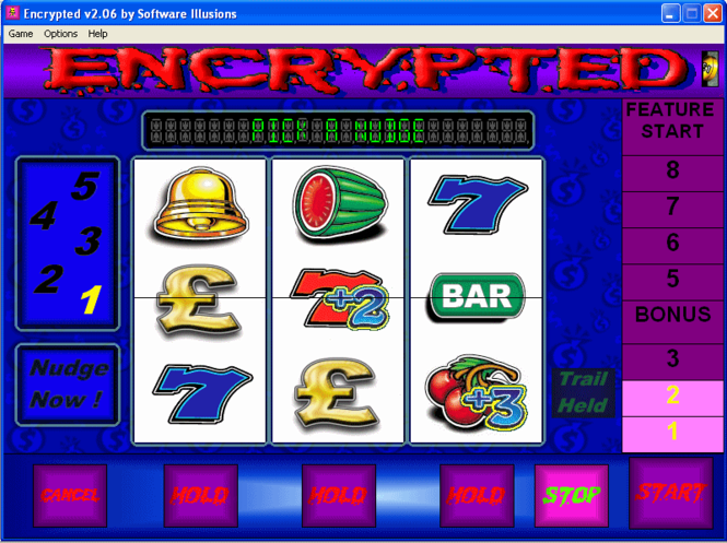 Encrypted Fruit Machine Screenshot