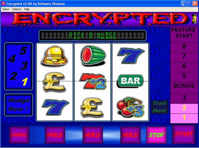 Encrypted Fruit Machine Screenshot 1