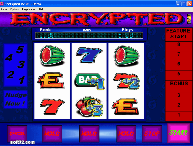 Encrypted Fruit Machine Screenshot 2