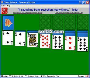 Cheat Solitare Screenshot 3